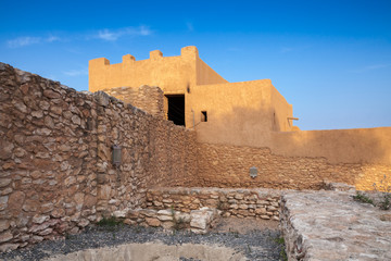 Iberian Citadel of Calafell, ancient fortress in Catalonia, Spai