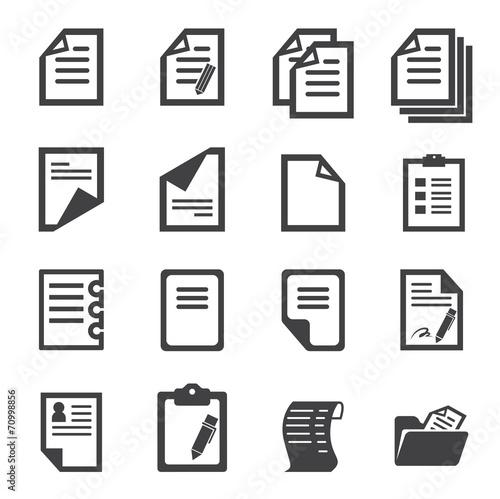 paper icon - 70998856