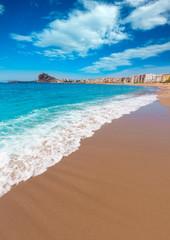 Aguilas Levante beach Murcia in Spain
