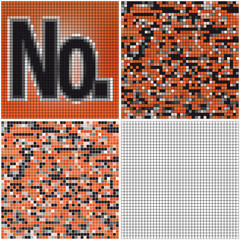 Number (mixed mosaic)