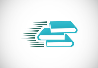 book vector e-book logo