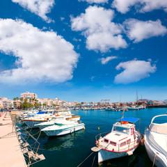Aguilas port marina village Murcia in Spain