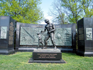 Arlington Cemetery The National Seabee Memorial  2010