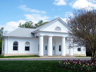 Arlington Cemetery white small house 2010