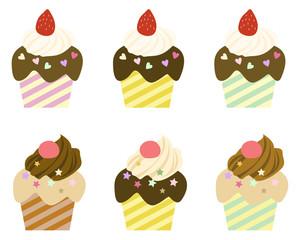 バラエティ カップケーキ
