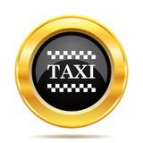 Fototapety Taxi icon