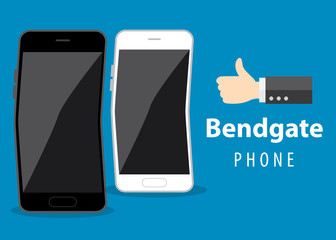 Mobile phone bend