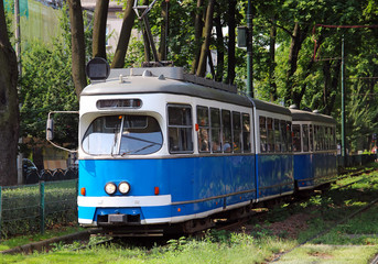 Tram in Krakow