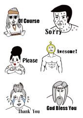 Funny People Illustratio