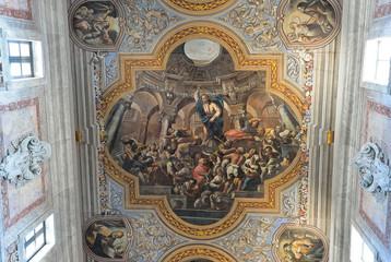 Affresco nella cattedrale di Ostuni, Puglia