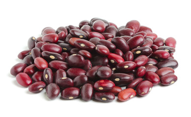 Dried red beans.