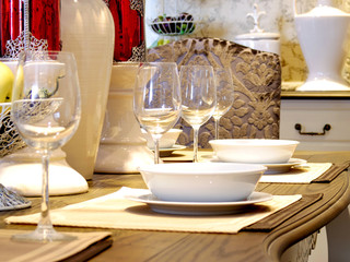 dinning table decoration