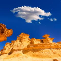 Bolnuevo Mazarron eroded sandstones Murcia
