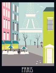 Paris street.