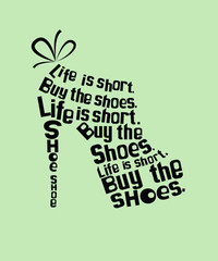 Shoe from quotes