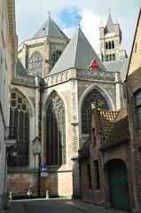 Ábside Iglesia de Brujas, Bélgica