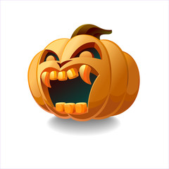 Frightening Pumpkin