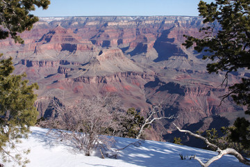 Grand Canyon and Winter