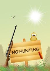 hunting ban