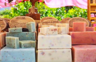 Homemade soaps