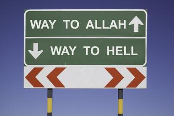 way to Allah