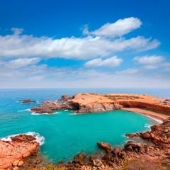 Cabo de Palos beach near Mar Menor Murcia