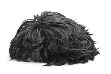 black hair wig