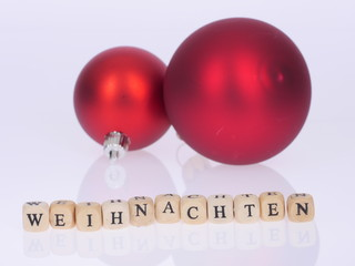 Weihnachten, Christbaumkugeln