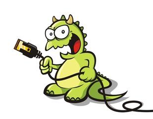 Internet monster