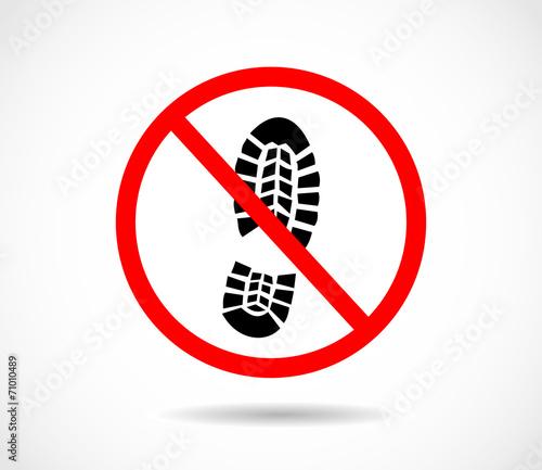 Fototapete Füße - Widerstand - Zeichen / Symbol - Pixteria