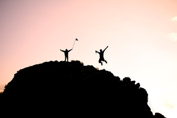 dağcıların zirve mutluluğu