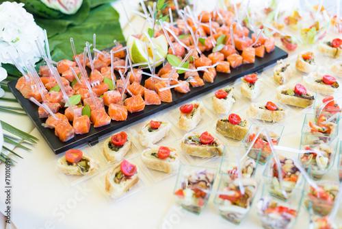 In de dag Buffet, Bar Wedding Catering Food