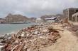 Damaged by hurricane Odile marine of Cabo San Lucas