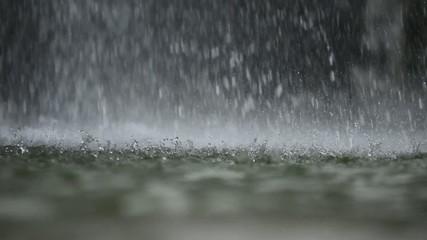 şelale suları