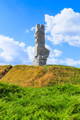 Westerplatte Monument of a battle of II World War in Poland
