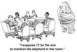 Leinwandbild Motiv Conflict Management