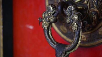 tibetan doorknob
