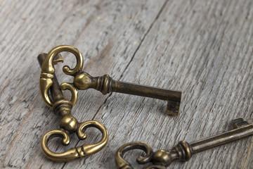 alte Messingschlüssel © Matthias Buehner
