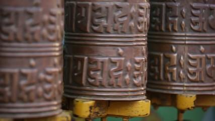 tibetan mani prayer wheel
