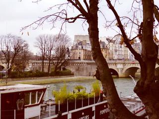 Retro look Ile de la Cite Paris