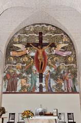 Crocifisso nella Chiesa a Trullo di Alberobello