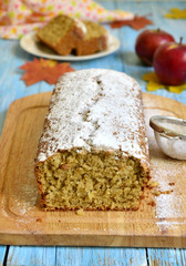 Apple pound cake.