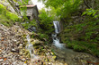 eep forest waterfalls and old water mill