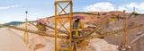 Gravera de extraccion de aridos