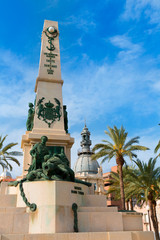 Cartagena Murcia Cavite heroes memorial in Spain