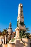 Cartagena Murcia Cavite heroes memorial Spain poster