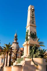 Cartagena Murcia Cavite heroes memorial Spain