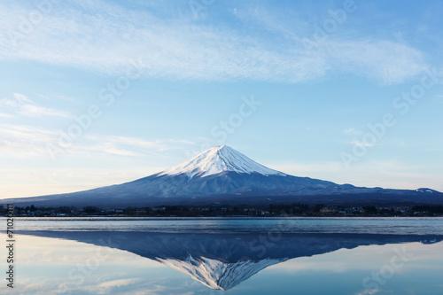 Aluminium Bergen 逆さ富士