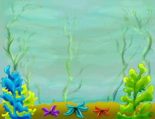 Ocean sea underwater