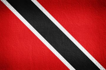 wall texture, flag of Trinidad and Tobago